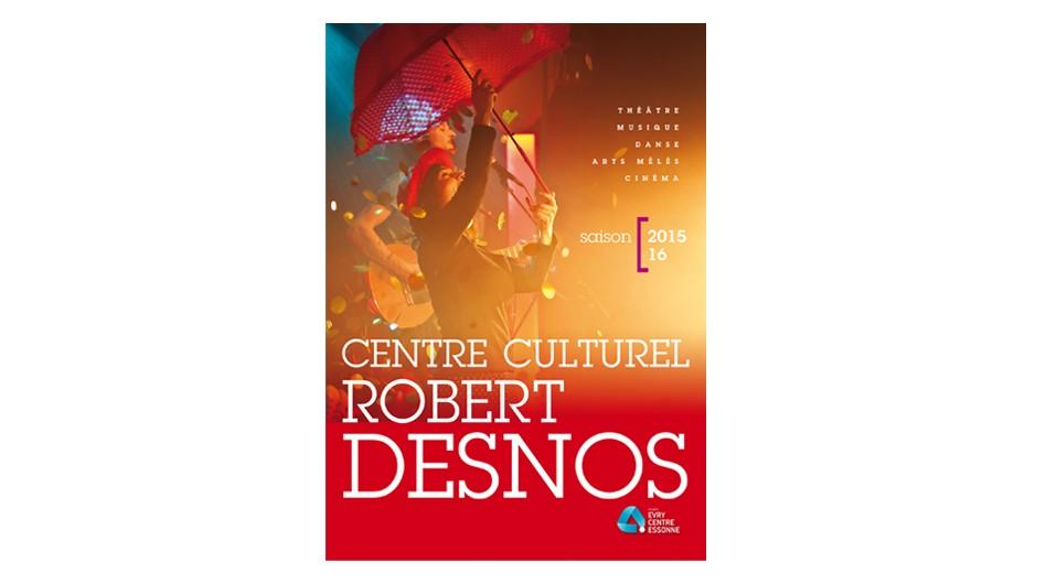 Centre culturel Robert-Desnos à Évry : nouvelle brochure !